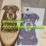 Workshop Pyrografie Ogen 25 juli 2020